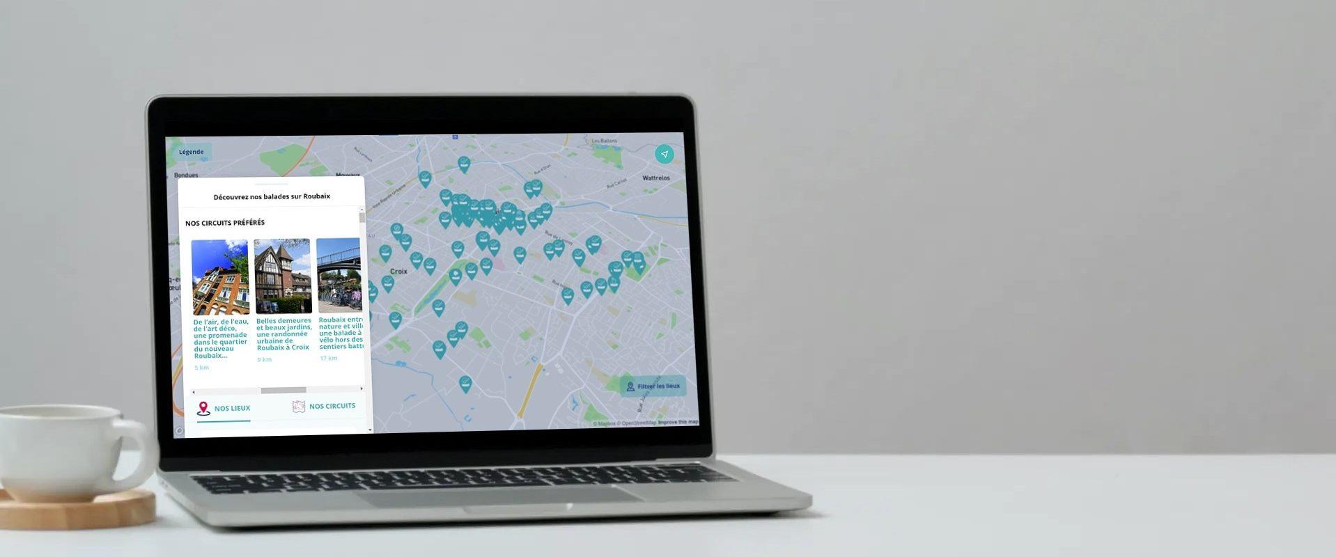 Projet cartographique – Hello Lille et les Offices de Tourisme de la MEL